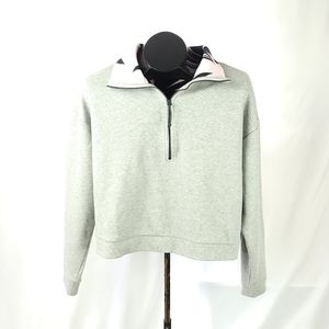 LOLE Cropped Yoga Pullover Size Large